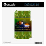 Turkey Lament iPod Touch 4G Decals