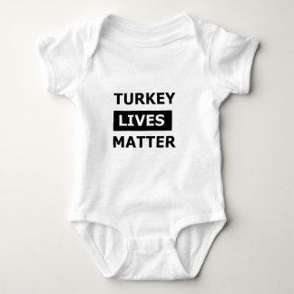 Turkey lives matter baby bodysuit