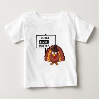 Turkey lives matter graphic baby T-Shirt