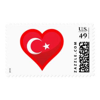 Turkey Love Postage Stamp
