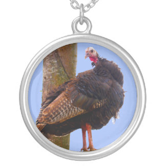 Turkey Lurkey Silver Plated Necklace