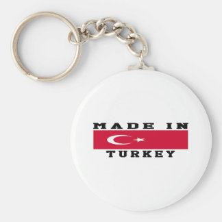 Turkey Made In Designs Keychain