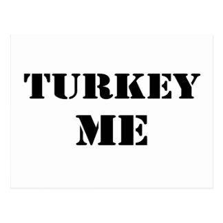 Turkey Me Postcard
