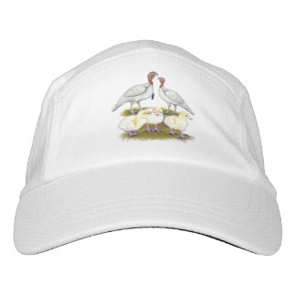 Turkey Mini White Family Headsweats Hat