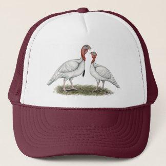 Turkey Mini Whites Trucker Hat