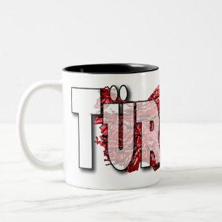 Turkey Two-Tone Coffee Mug