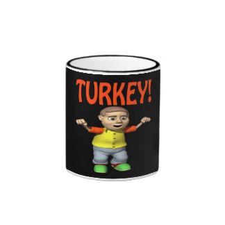 Turkey Ringer Coffee Mug