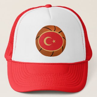 Turkey National Basketball Team Trucker Hat