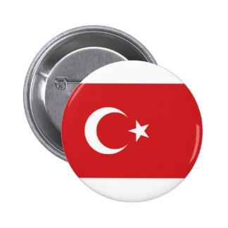 Turkey National Flag 2 Inch Round Button