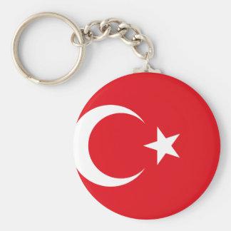 Turkey National World Flag Keychain
