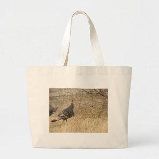 Turkey Near Water Jumbo Tote Bag