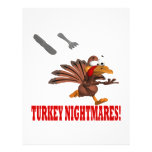 "Turkey Nightmares 8.5"" X 11"" Flyer"
