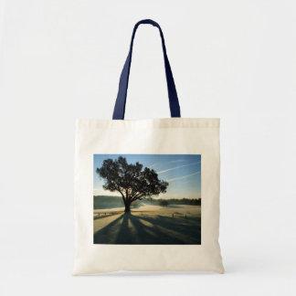 Turkey Oak in Autumn Canvas Bag