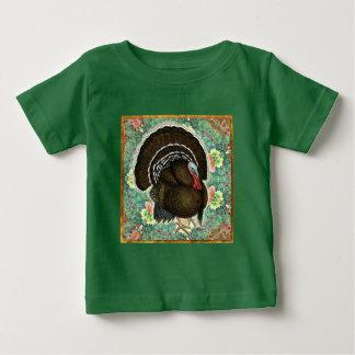 Turkey On the Greens Baby T-Shirt