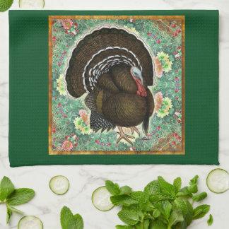 Turkey On the Greens Hand Towel