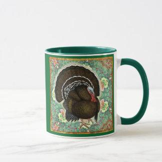 Turkey On the Greens Mug