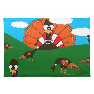 Turkey On The Horizon Cloth Placemat