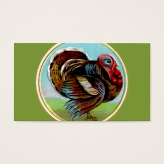 Turkey Painting Business Card