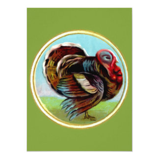 Turkey Painting Card