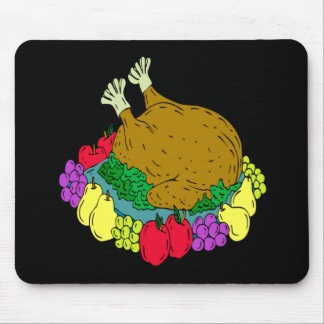 Turkey Platter Mouse Pad