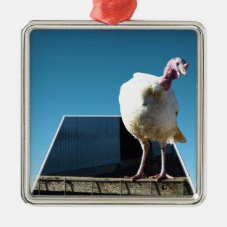 Turkey Popout Art, Metal Ornament