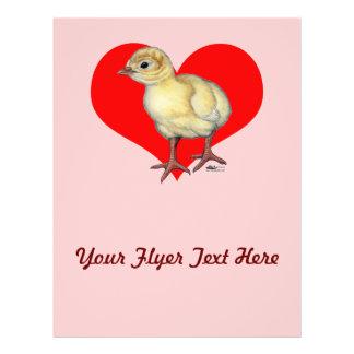 Turkey Poult Heart Flyer