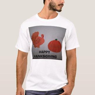 Turkey&Pumpkin  HAPPY THANKSGIVING design2 T-Shirt