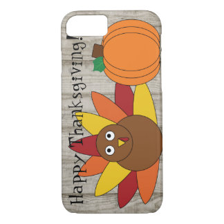 Turkey & Pumpkin Thanksgiving iPhone 7 Case