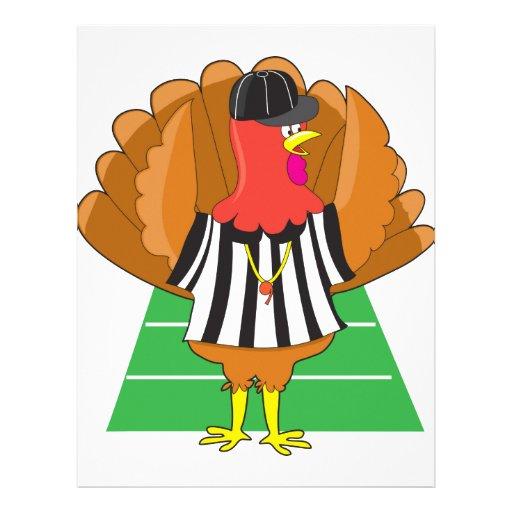 Turkey Referee Customized Letterhead