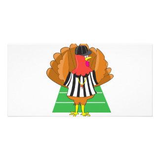 Turkey Referee Customized Photo Card