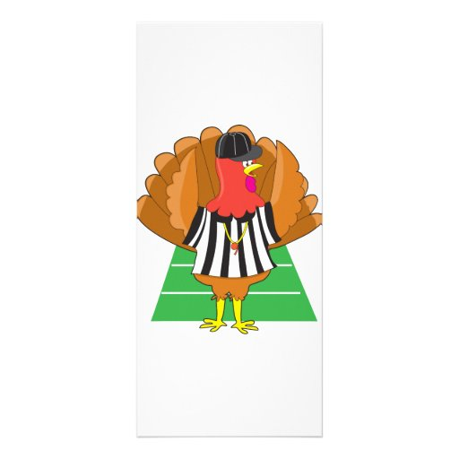 Turkey Referee Rack Cards