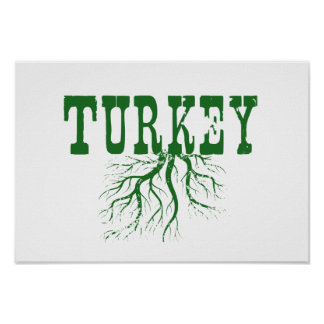 Turkey Roots Poster