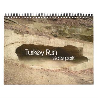 Turkey Run Stat Park Calendar