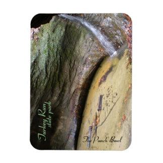 Turkey Run State Park, Punch Bowl Rectangular Photo Magnet