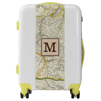 Turkey, Russia and Asia Engraved Map | Monogram Luggage