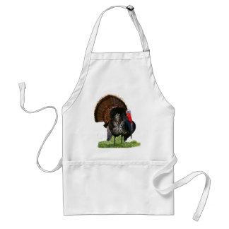 Turkey season adult apron