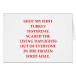 turkey shoot cards