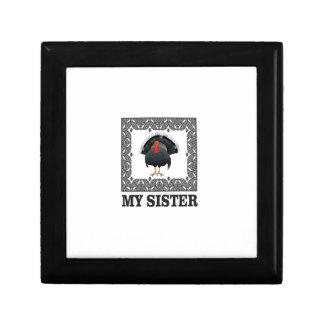 Turkey sister jewelry box