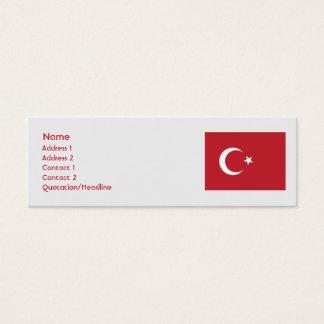 Turkey - Skinny Mini Business Card
