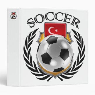 Turkey Soccer 2016 Fan Gear 3 Ring Binder