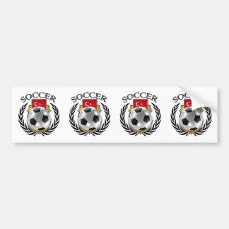 Turkey Soccer 2016 Fan Gear Bumper Sticker