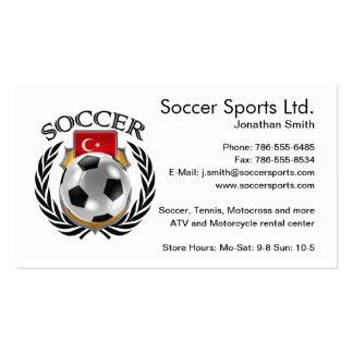 Turkey Soccer 2016 Fan Gear Business Card