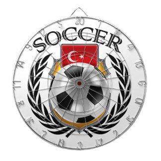 Turkey Soccer 2016 Fan Gear Dartboard