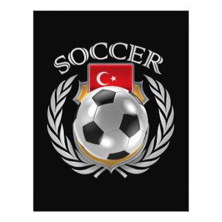 Turkey Soccer 2016 Fan Gear Flyer