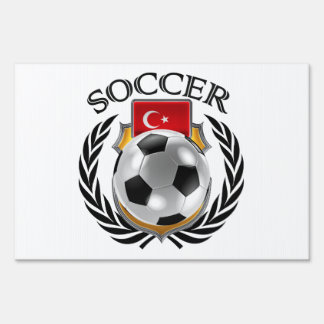 Turkey Soccer 2016 Fan Gear Lawn Sign