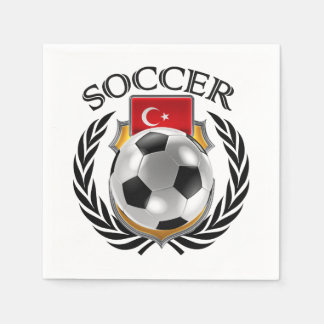 Turkey Soccer 2016 Fan Gear Paper Napkin