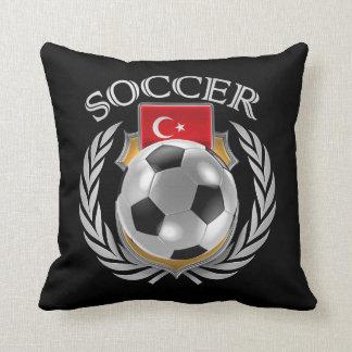 Turkey Soccer 2016 Fan Gear Pillow