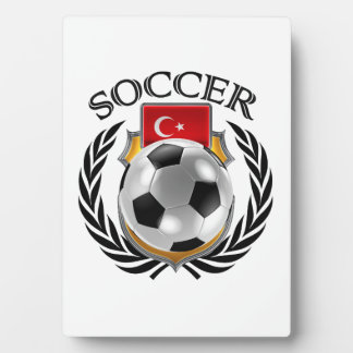 Turkey Soccer 2016 Fan Gear Plaque