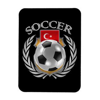Turkey Soccer 2016 Fan Gear Rectangular Photo Magnet
