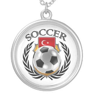 Turkey Soccer 2016 Fan Gear Silver Plated Necklace